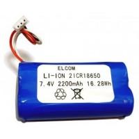 Elcom Euro 50/150 TEi akubaterie 2ICR18650