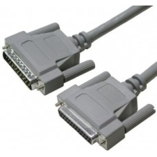 Kabel RS232 DB25F-DB25M prodlužovací, 1,8 m
